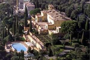 Villa Leopolda, Villefranche-sur- Mer, Francja. Wycena: 500 mln euro w 2008 r. Forbes
